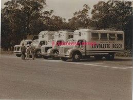 1956-CAMEROUN-Yaoundé-Camions Lavalette Bosch (ets à Saint Ouen) Opération Gas Oil à Travers L'Afrique-berliet - Cars