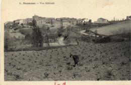 11 DONAZAC - Vue Générale - Autres Communes