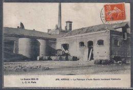 Carte Postale 62. Arras  La Fabrique D'huile Bauvin  Bd Faidherbe    Trés Beau Plan - Arras