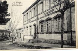 11 MOUX - Ecole Des Filles - Bureau De Poste - Autres Communes
