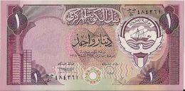 KUWAIT=1980    1  DINAR      P-13     UNC - Kuwait