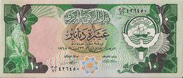 KUWAIT=1980    10  DINARS      P-15     UNC - Kuwait