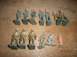 Lots De 13 Soldats à Restaurer Ww1 - Toy Memorabilia