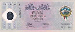 KUWAIT=2001  10th ANNIVERSARY     1  DINAR      P-C-S 2    POLYMER     UNC - Kuwait