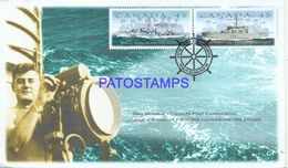 89815 CANADA HALIFAX COVER YEAR 1998 SHIPS STAMPS MARINE NO POSTAL POSTCARD - Canadá