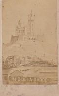 Foto Marseille - Notre Dame De La Garde - Ca. 1900 - 10*6cm (33363) - Orte