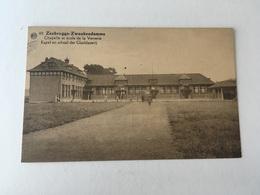 Zwankendamme  Zeebrugge   Chapelle Et école De La Verrerie - Zeebrugge