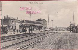 Oudenburg Statie Station Reclame Chicorei Verburgh Roeselare - Oudenburg