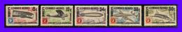 1955 - Cuba - Sc. C 122 - C 126 - MNH - CU-106 - Poste Aérienne