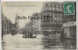 75 - PARIS 12 - INONDATIONS 1910 - Rue De Lyon ++++ Gondry, #54 ++++ 1910 - Arrondissement: 12