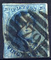 1858 - Nr 11 - Vingt Cents (°) 79 Marche - 1858-1862 Medaillons (9/12)