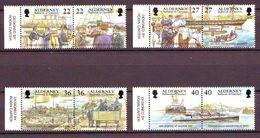 Alderney 2001, Garrison Island 4x2v Mnh - Alderney