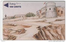 "BAHRAIN(GPT) - Rifa ""a Fort, CN : 3BAHC/B(normal 0), Used - Bahrain"