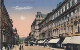 AK - Wien IX, WÄHRINGER STRASSE Mit Strassenbahn Und Geschäften 1900 - Zonder Classificatie
