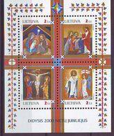 Lithuania 2000, 2000 Years Christdom S/s Mnh - Lithuania