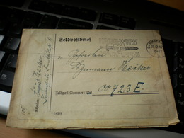 Darmstadt 1942 Feldpostbrief - Germania