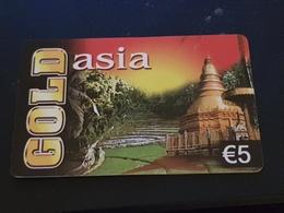 Gold Asia   - 5 Euro -  Monument -   Used Condition - Deutschland