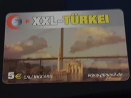 Xxl- Türkei - 5 Euro -  Big Bridge -   Used Condition - Deutschland