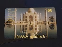 Nava Arabisch - 6 Euro - Taj Mahal   -   Used Condition - Deutschland