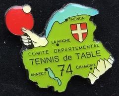 COMITE DEPARTEMENTAL DE  TENNIS DE TABLE 74 - HAUTE SAVOIE  - PING PONG         -  (18) - Table Tennis