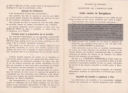 Note Ministérielle - Lutte Contre Le Doryphore - Wetten & Decreten