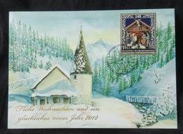 Liechtenstein 2011. Mi 1616. Christmas Card 2011. Madonna. Maxicard - Cartoline Maximum