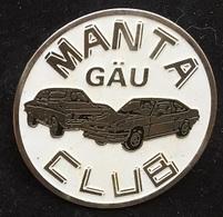 OPEL MANTA CLUB - GÄU - SUISSE - SCHWEIZ - SWISS - VOITURE - CAR        -  (12) - Opel