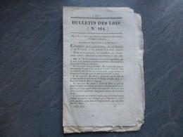 Canal Digoin à Roanne 1827, Route Jusqu'à Selles-sur-Cher, Etc ; Ref 474VP39 - Documents Historiques