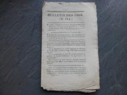 LIBOURNE 1826, Communauté Sacré-Coeur, Sain-Cyr-sur-Loire, Lettres Patentes PG Douineau De Charantais ; Ref 480VP39 - Historical Documents