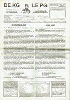 """Revue """" DE KG - LE PG """" - N° 12 Déc 2005 - N° 1 Jan 2005 (Fr/Nl) - Histoire"""