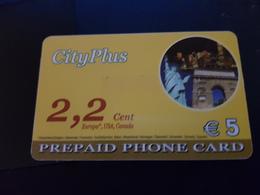 City Plus / Ladzy Liberty USA /  5 Euro   -  Little Printed  -   Used Condition - Deutschland