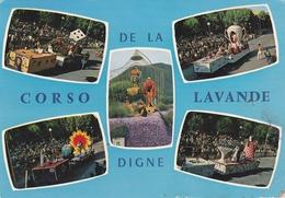 BASSES ALPES 04 DIGNE CORSO DE LA LAVANDE BELLE CARTE RARE !!! - Digne