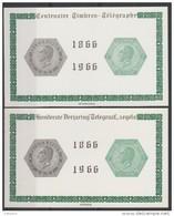 E 99/100 100ste Verjaardag Telegraafzegels/Centenaire Timbres -Télègraphe ** - Commemorative Labels