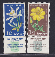 ISRAEL N°  176 & 177 ** MNH Neufs Sans Charnière, TB (D5312) Fleurs - Israël
