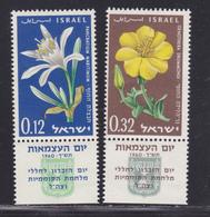 ISRAEL N°  176 & 177 ** MNH Neufs Sans Charnière, TB (D5312) Fleurs - Israel