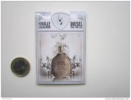 DIESEL  - Carte Parfumée PUFFER - Perfume Cards