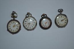 1 Lot De 4 Montres Col - Watches: Old