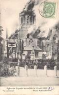 Eglise De LEYSELE Incendiée Le 21 Août 1908 - Vue Extérieure. - Alveringem