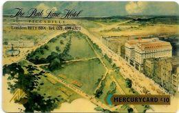 UK (Mercury) - Park Lane Hotel (Shallow Notch), 20MERΕ-MER088A, 5.335ex, Used - United Kingdom