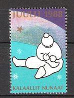 Greenland 1988 Christmas Stamp  MNH(**) - Neufs