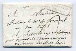 PORT PAYE  BESANCON   Encadré 31mm / Dept 24 Doubs / 1788 /  Indice 25 Cote 1200E - 1701-1800: Précurseurs XVIII