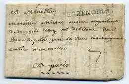 MP DE GRENOBLE  / Lenain N°3 /  22 Juin 1724 / Dept De L'Isère - 1701-1800: Précurseurs XVIII