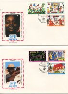 Anguilla, 1979, International Year Of The Child, IYC, United Nations, FDC, Michel 329-334 - Anguilla (1968-...)