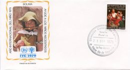 Bolivia, 1979, International Year Of The Child, IYC, United Nations, FDC, Michel 943 - Bolivia