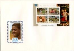 Burundi, 1979, International Year Of The Child, IYC, United Nations, FDC, Michel Block 109A - Non Classés