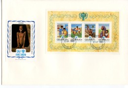 Ghana, 1979, International Year Of The Child, IYC, United Nations, FDC, Michel Block 81A - Ghana (1957-...)