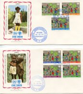 Haiti, 1979, International Year Of The Child, IYC, United Nations, FDC, Michel 1348-1354 - Haití
