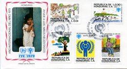 Honduras, 1980, International Year Of The Child, IYC, United Nations, FDC, Michel 960-964 - Honduras