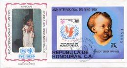 Honduras, 1980, International Year Of The Child, IYC, United Nations, FDC, Michel Block 32 - Honduras