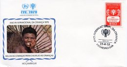 Mozambique, 1979, International Year Of The Child, IYC, United Nations, FDC, Michel Z80 - Mozambique